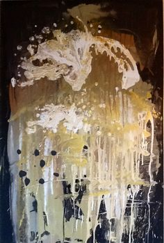 Abstract painting by W Joe Adams 2013 SOLD