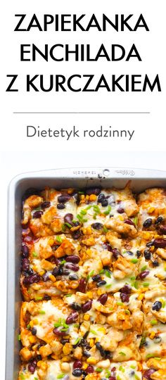 Pin by Benny Fisher on Przepisy na napoje Enchiladas, Fisher, Casserole, Chicken Recipes, Recipies, Menu, Cooking Recipes, Tasty, Lunch