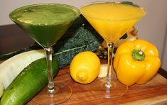 Green Juice    Ingredients:  4 kale leaves  1/4 -1/2 green melon  1 large cucumber  1 bunch parsely        Directions:    1.) Peel pineapple, melon and lemon.    2.) Juice all produce.    3.) Drink combined or separately & ENJOY!