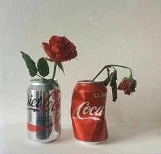 Imagen de rose, flowers, and red