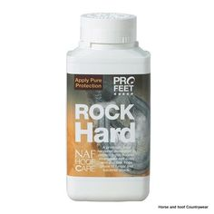 NAF Five Star Pro Feet Rock Hard A premium hoof hardener developed to protect brittle hooves strengthen soft soles and disinfect frogs prone to fungal and bacterial attack.