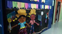Mural de festa junina