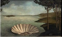 Waiting for the Birth (Version of The Birth of Venus by Sandro Botticelli) // Jose Ballester // Hidden Spaces Art Design Love Painting, Painting & Drawing, Italy Painting, La Madone, Hidden Spaces, The Birth Of Venus, Art Design, Oeuvre D'art, Art Images