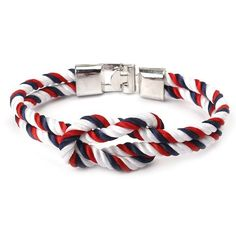 Rope Infinity Bracelet Charm Jewelry From Touchy Style Outfit Accessories ( 1 ) Cheap Bracelets, Cute Bracelets, Braided Bracelets, Handmade Bracelets, Bracelets For Men, Fashion Bracelets, Bangle Bracelets, The Bangles, Simple Jewelry
