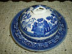 Antique butter dish...