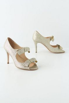 Giselle Bow Heels #anthropologie