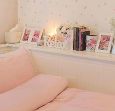 Cute, girly bedroom