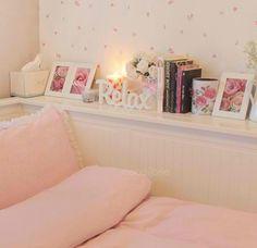 Cute, girly bedroom