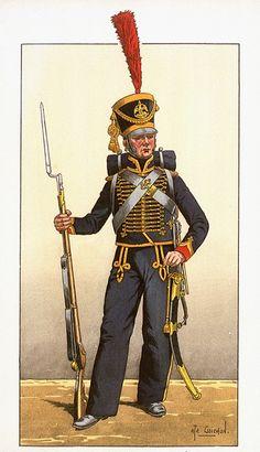 Garde Imperiale - Marin de la Garde c.1810 by Goichon