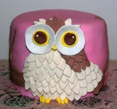 """Photo 3 of 8: Owl themed / Baby Shower/Sip & See """"Baby shower for a girl"""" 
