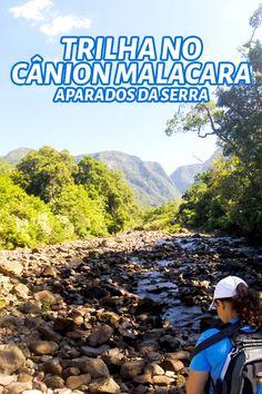 Sinta a energia pura e intocada no interior do Cânion Malacara no estado de Santa Catarina. É uma trilha de nível moderado a avançado que vale a pena fazer.