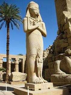 Templo de Karnak (Egito).