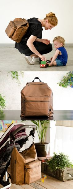 Diaper bag Diaper bag backpack Baby nappy bag Changing by OneDuo