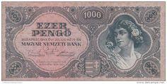 2058A, BANKNOTE, 1000, EZER PENGO, 1945, HUNGARY. - Delcampe.net