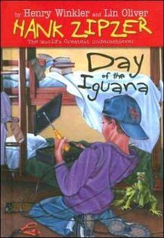 Day of the Iguana (Hank Zipzer Series #3) by Henry Winkler, Lin Oliver