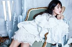 Song Hye-kyo mentioned Jeon Do-yeon, Kim Hye-soo and Jun Ji-hyun as actresses she would like to work with. Song Hye-kyo talked about her thoughts on marriage, competition and friendship between actresses and looking forward to Song Hye Kyo, G Song, W Korea, Jun Ji Hyun, Bridal Mask, Yoo Ah In, Cute Girl Pic, Portraits, Hyun Bin