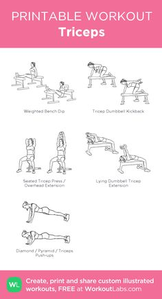 Workout plans, handy home fitness planner to get in shape. Inspect this pin-imag - Workout plans, handy home fitness planner to get in shape. Inspect this pin-imag Workout plans, handy home fitness planner to get in shape. Inspect this pin-imag… – Triceps Workout, Chest And Tricep Workout, Chest Workouts, Tricep Workout Women, Back And Bicep Workout, Chest Workout Women, Shoulder Workout Women, Chest And Shoulder Workout, Fitness Workouts