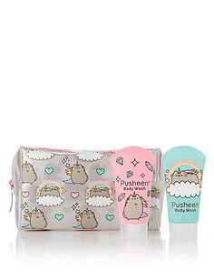 Buy the Cosmetic Bag from Marks and Spencer's range. Gato Pusheen, Pusheen Love, Pusheen Stuff, School Suplies, Cute Notebooks, Toys For Girls, Cute Love, Cosmetic Bag, Mixed Media Art