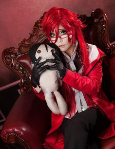 Grell Sutcliff from Black Butler Cosplay || anime cosplay