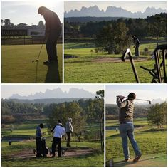 Do you want to play golf having the Montserrat mountain as your main spectator? Visit our website and check out our Golf & Wine Tour: www.castlexperience.com