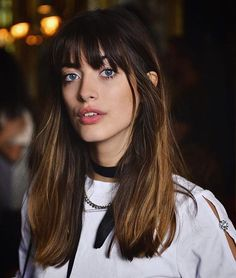 11 - The best hair designs in 2019 - 1 Are you ready to meet the 2019 hair trends that add new colors to our beauty world? If you are ready to see dif. Spring Hairstyles, Hairstyles With Bangs, Pretty Hairstyles, Hairstyles 2016, Latest Hairstyles, Ombré Hair, Hair Day, Her Hair, Hair Bangs