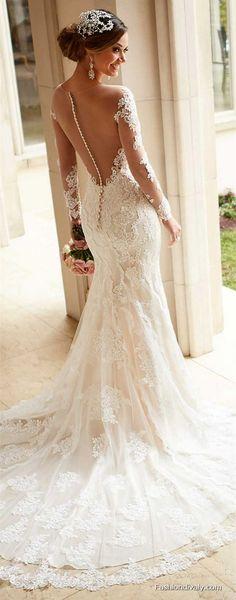 LOVE! Wedding Dresses 2018 #Wedding #Bridal Amazing Wedding Dresses Collections (86)