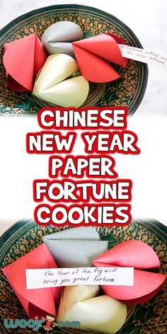 Chinese New Year Paper Fortune Cookies | Woo! Jr. Kids Activities