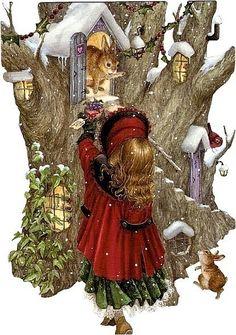 Susan Wheeler, Christmas folding card 15 x 21, Russia