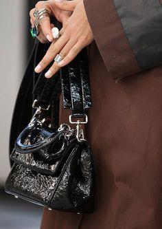 Dior Black Be Dior Micro Flap Bag - Pre-Fall 2015