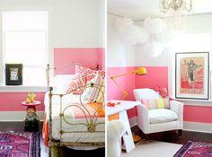 15 Inspiring Color Blocked Interiors