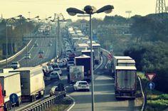 Anche a Bari si chiedono le dimissioni dei rappresentanti di governo. Qui gli esponenti del Movimento dei Forconi hanno bloccato il traffico...http://tuttacronaca.wordpress.com/2013/12/09/forconi-in-strada-disagi-tra-bari-e-foggia/