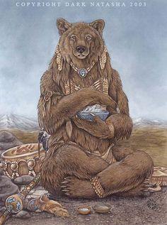The Art of Dark Natasha - Medicine Bear