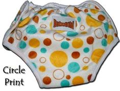 ADJUSTABLE Potty Training Pants/ Trainers/ Resuable & Washable Bamboo Minky One Size by BubuBibi - BUBBLES Review