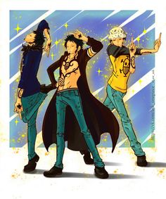 Trafalgar D Water Law One Piece