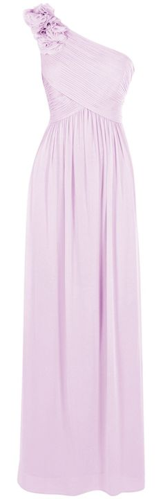 2016 Custom Elegant Lilac Chiffon Prom Dress,Sexy One Shoulder Evening Dress,Hands Made Prom Dress Backless Prom Dresses, Cheap Prom Dresses, Bridesmaid Dresses, Wedding Dresses, Dress Prom, Elegant Dresses, Pretty Dresses, Beautiful Dresses, Formal Gowns