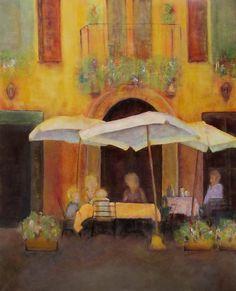 Caffè In Pienza By Dianne Gilbertson