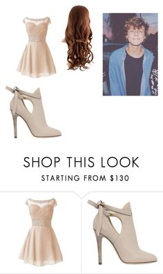 """date with ashton"" by lukehemmings-5sos-cx ❤ liked on Polyvore featuring Jimmy Choo"