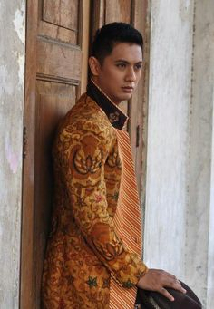 Sogan Batik mix Lurik