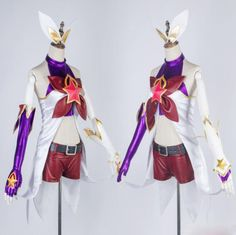LOL JINX suits from yoybuy.