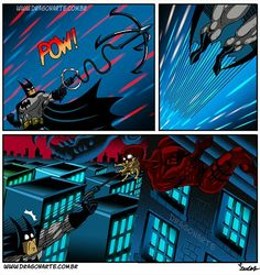 Batman and Daredevil parody