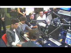 One Direction on Capital FM Radio 5/10/12