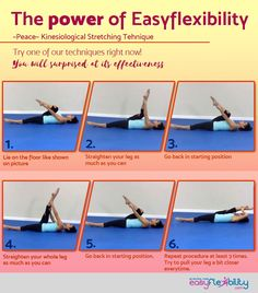 The power of Easyflexibility Try one of our techniques right now #easyflexibility #strong #flexible #stretch #workout #easy #simple #painless #workoutplan #split #hamstring #dance #ballet #gymnastic #cheer #cheerleading #jumps #flexed