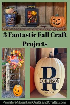 Decorating for fall is fun! There are an endless amount of projects, but I'll settle for sharing these 3 amazing fall farmhouse projects. Fall Projects, Sewing Projects, Craft Projects, Primitive Fall Decorating, Fall Crafts, Diy Crafts, Home Goods Decor, Thanksgiving Ideas, Autumn Inspiration