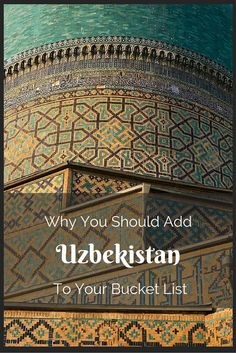 Uzbekistan is an underrated travel gem. Here's why you should visit now.