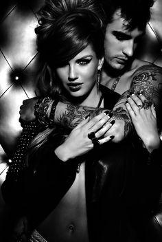 Sensual. Passionate. Tattoos.