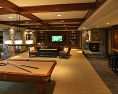 Traditional Basement Design, Pictures, Remodel, Decor and Ideas - page 2