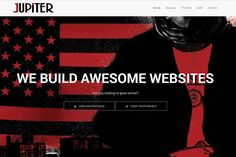 Jupiter - One-page Html Template  @creativework247