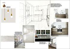 Concept / samples board for interior design
