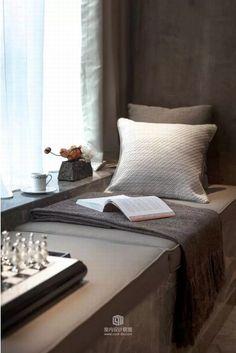 E Room, Cosy Corner, Relaxation Room, Boho Home, Bay Window, Sofa Furniture, Decoration, Bedroom Decor, Loft