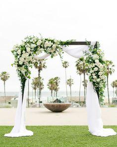 30 Bright Ideas Of Wedding Ceremony Decorations ❤ wedding ceremony decorations outdoor flower greenery littlehilldesign #weddingforward #wedding #bride